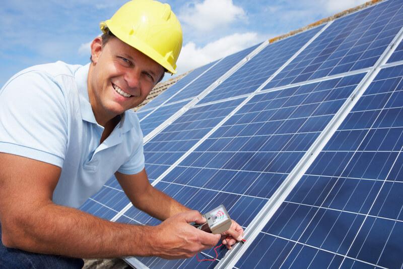 ondernemer en zonnepanelen